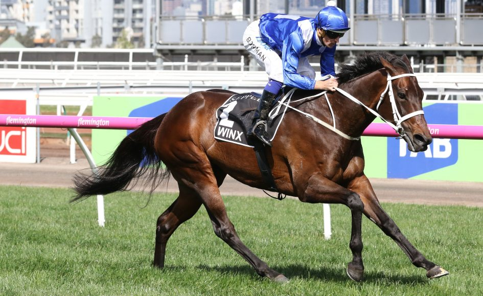 Winx makes history with third Cox Plate victory in Australia