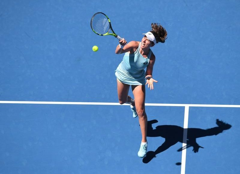 Konta expects tough Brengle test